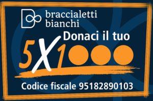 http://www.braccialettibianchi.org/category/donazioni-e-5x1000/